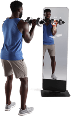 iFIT-connected fitness mirrors.